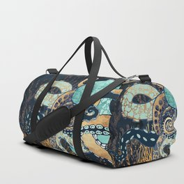 Metallic Octopus II Duffle Bag