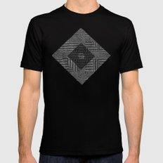 Harmony Mens Fitted Tee 2X-LARGE Black