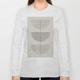 Geometric Composition III Long Sleeve T-shirt