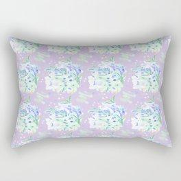 WATERCOLOUR PURPLE Rectangular Pillow