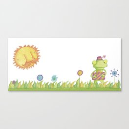 Little Frog Canvas Print