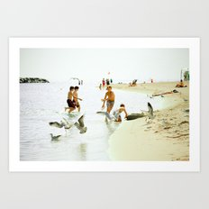 Happy Summer Art Print