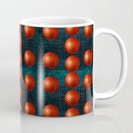 SHINY RED GOLFBALLS Coffee Mug