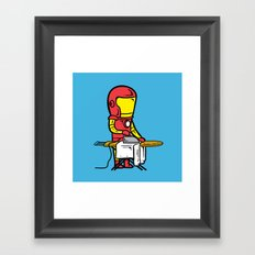 Part Time Job - Laundry Shop Framed Art Print