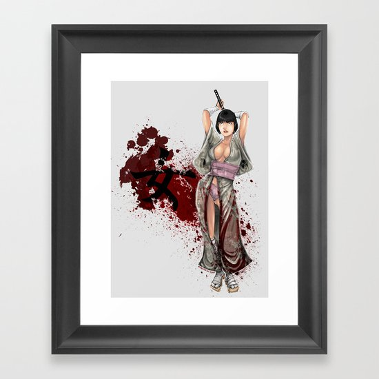 Kunoichi 1 of 4 Framed Art Print