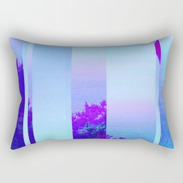 Lucid Waves Rectangular Pillow
