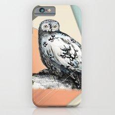 Owl McSit by carographic iPhone 6s Slim Case