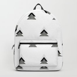 Arrows Collages Monochrome Pattern Backpack