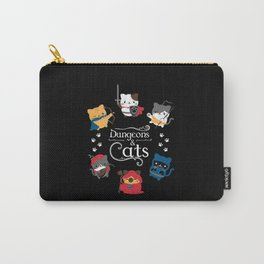 Dungeons And Cats Carry-All Pouch