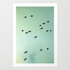 Art Of Flight #1 Art Print