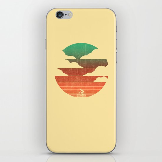 Go West (cycling edition) iPhone & iPod Skin