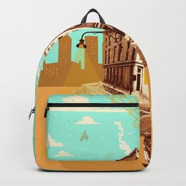 CITY PIANO Backpack