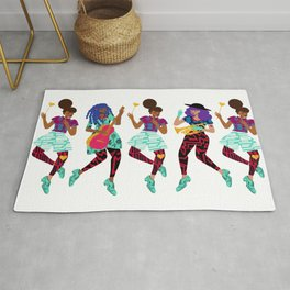 The Merry Band Rug