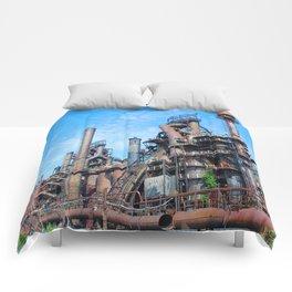 Bethlehem Steel Blast Furnaces 8 Comforters