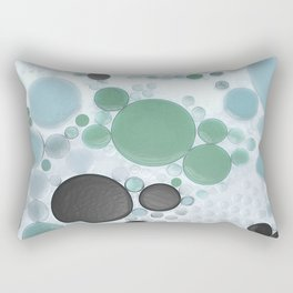 :: Overcast Day at the Beach :: Rectangular Pillow
