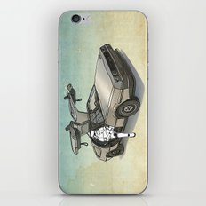Stormtrooper in a DeLorean - waiting for the car club iPhone & iPod Skin