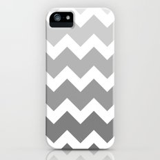 Chevron - Multi Grey Slim Case iPhone (5, 5s)