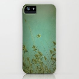 When the wind blows iPhone Case