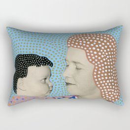Telepathic Understanding Rectangular Pillow