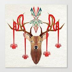 deer rope  Canvas Print
