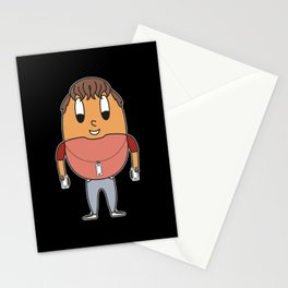 Mobile-Phone-Addict Egg Stationery Cards