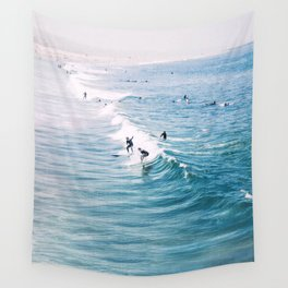 Catch A Wave Wall Tapestry