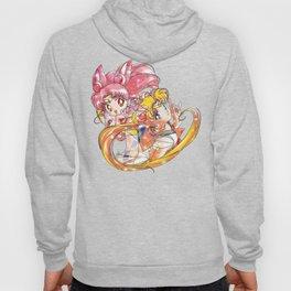 Super Sailor Moon & Chibi Moon (edit 2/A) Hoody