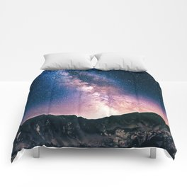 Milky Way Galaxy VIII Comforters