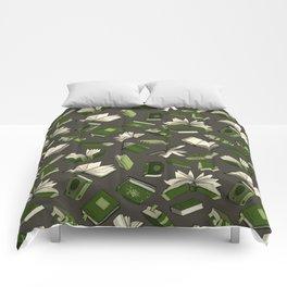 Spellbooks, green Comforters