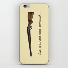 This is not my Boomstick iPhone & iPod Skin