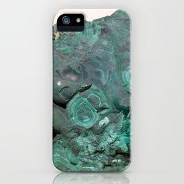 Natural Malachite iPhone Case