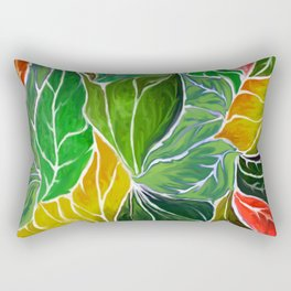 Dancing leaves Rectangular Pillow
