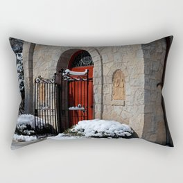 Portiuncula  Chapel Doors Rectangular Pillow