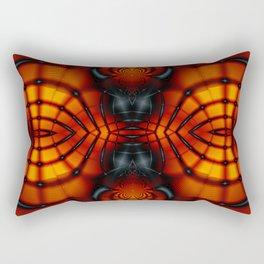 Fractal Art - Devil II Rectangular Pillow