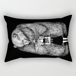 Two bears Rectangular Pillow