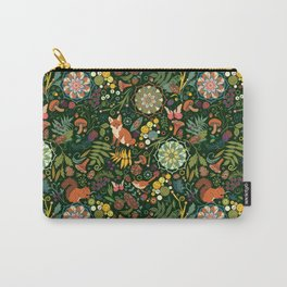 Treasures of the emerald woods Carry-All Pouch