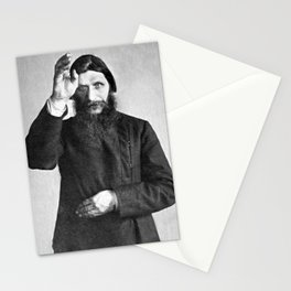 Rasputin The Mad Monk Stationery Cards