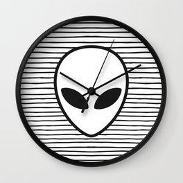 Alien Wall Clock