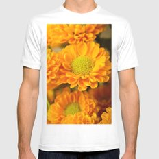 A Bright New Day MEDIUM Mens Fitted Tee White