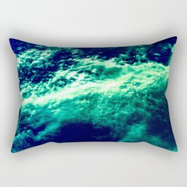 Eerie Waters Of The Bermuda Triangle Rectangular Pillow