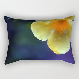 A drop of yellow Rectangular Pillow