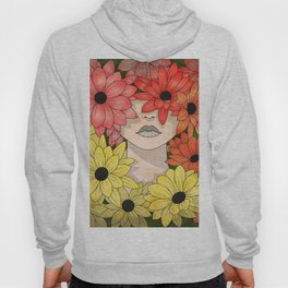 Flower Garden Girl Hoody