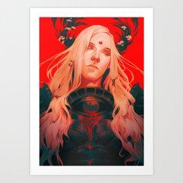Zenos Yae Galvus: Hemlock Art Print