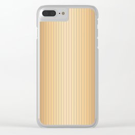 Traditional Japanese patter MIJINSUJI Clear iPhone Case