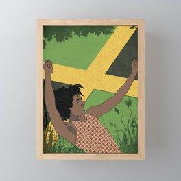 Raggae Man Framed Mini Art Print