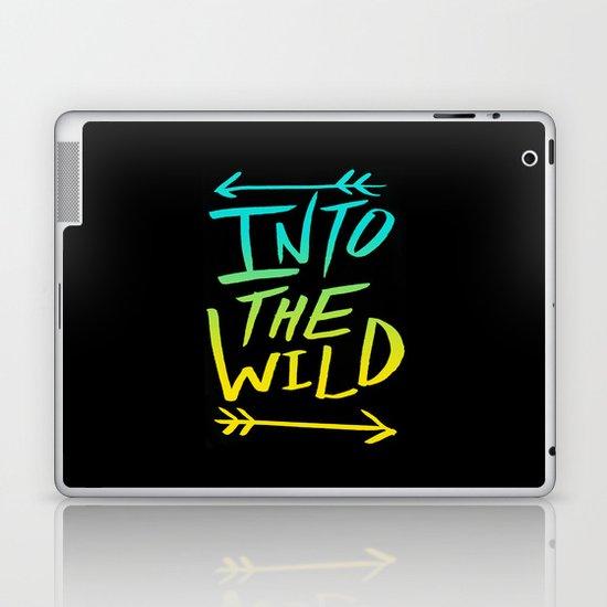Into The Wild: Typography Laptop & iPad Skin