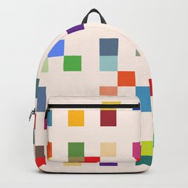 Abstract Retro Video Game Backpack