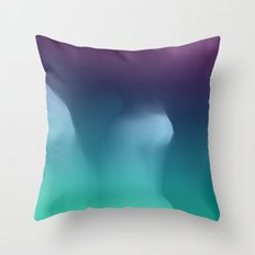 a perpetual apology for those times that keep happening Throw Pillow