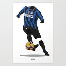 Inter Milan 2009/10 Art Print