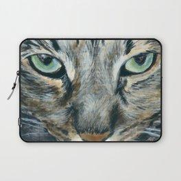 Brown Tabby Cat Laptop Sleeve